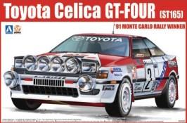 Aoshima Toyota Celica GT-Four ST165 rally model kit