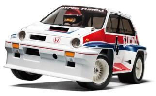 Tamiya Honda City Turbo model kit