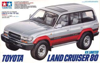 Tamiya Toyota Land Cruiser FJ80 VX Limited model kit
