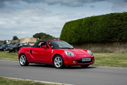 Toyota UK 50th Anniversary 25 MR2 Spyder