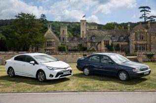 Toyota UK 50th Anniversary 26 Avensis & Carina E
