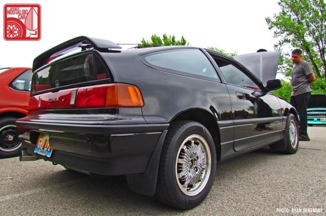 Honda CRX Si RHD Rear Low Team_Nostalgic Chicago