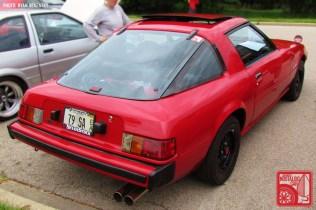 Mazda RX7 SA22 Rear Team_Nostalgic Chicago