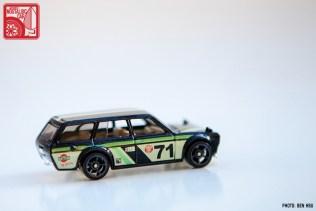 2015 Hot Wheels Datsun 510 Wagon - black Kmart 02