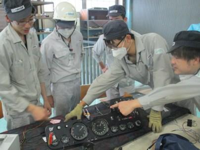 Mazda Cosmo Sport high school restoration 09