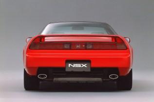 1990 Honda NSX rear