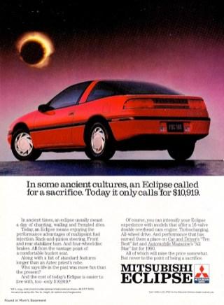 1990 Mitsubishi Eclipse GS ad02
