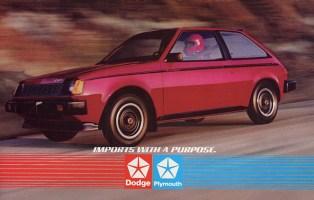 Dodge colt turbo 1984