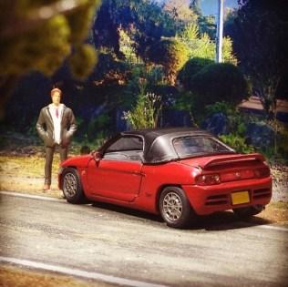 Takupon0816_Honda Beat rear diorama