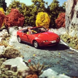 Takupon0816_Mazda MX5 Miata diorama