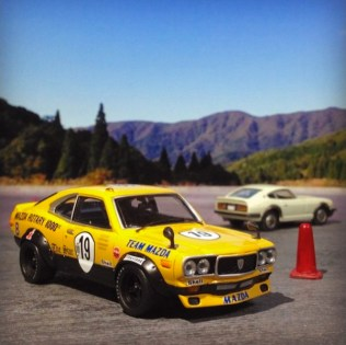 Takupon0816_Mazda RX3 S102 Kyalami 1972 diorama