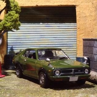 Takupon0816_Mitsubishi Galant FTO 1600 GSR 1973 diorama