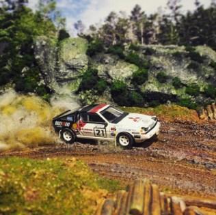 Takupon0816_Mitsubishi Starion 1986 diorama
