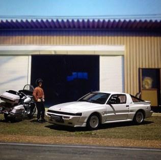 Takupon0816_Mitsubishi Starion 2000 Turbo EX 1988 diorama