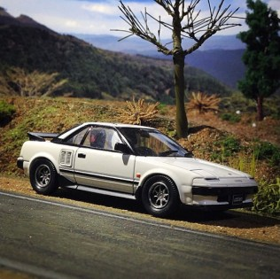 Takupon0816_Toyota MR2 AW11 diorama