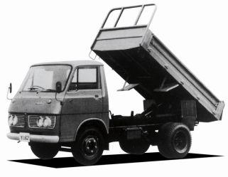Isuzu Elf dump truck