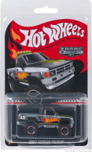 Hot Wheels 2017 Walmart mail-in 1987 Toyota Pickup 04