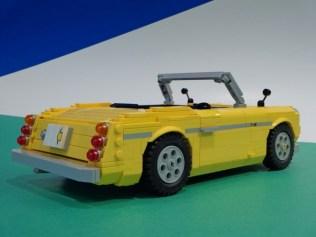 Lego Datusn Fairlady Roadster 02
