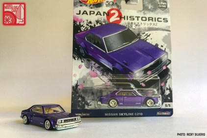 062-9196_Hot Wheels Japan Historics 2 Nissan Skyline Japan C210