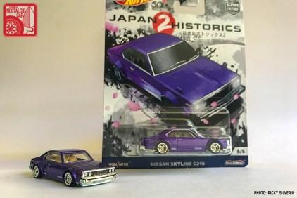 062-9196_Hot Wheels Japan Historics 2 Nissan Skyline Japan C210