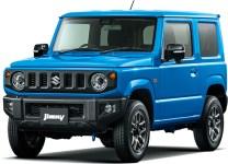 Suzuki Jimny 4th gen Brisk Blue Metallic
