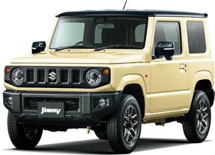 Suzuki Jimny 4th gen Chiffon Black Roof