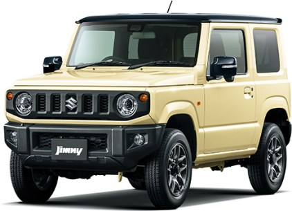Suzuki Jimny 4th gen Chiffon Black Roof