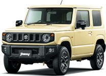 Suzuki Jimny 4th gen Chiffon Ivory Metallic