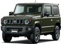 Suzuki Jimny 4th gen Jungle Green