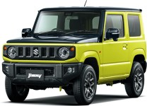Suzuki Jimny 4th gen Kinetic Yellow Black Top 2-Tone
