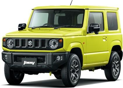 Suzuki Jimny 4th gen Kinetic Yellow