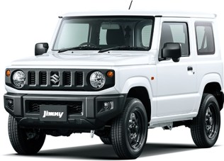 Suzuki Jimny 4th gen Superior White