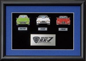 Japan Post Mazda RX7 40th pins SA22 FC3S FD3S