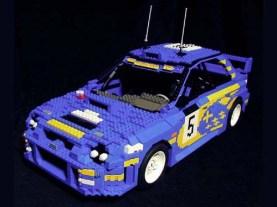 Lego Subaru Impreza WRC 2001 by ken-tucky 01