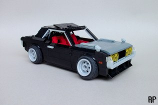 Lego Toyota Celica A20 by Rhys' Pieces 01