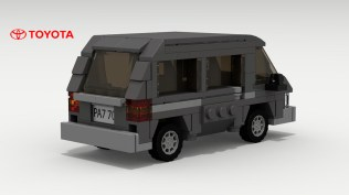 Lego Toyota Van by Tom 02