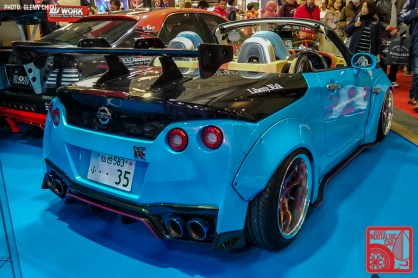 111GC Tokyo Auto Salon 2019 Daihatsu Copen Nissan R35 GTR Liberty Walk 03