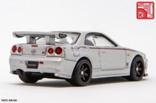 Hot Wheels Nissan Skyline GTR R34 Nismo prototype 3771