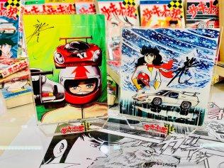 Animanga Zingaro Circuit Wolf 50th anniversary exhibit goods postcards 02