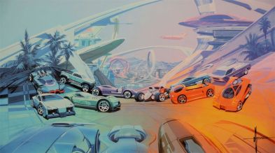 Syd Mead Hot Wheels
