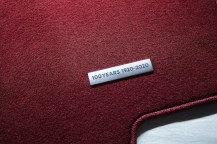 Mazda MX5 Miata ND 100th Anniversary floormats