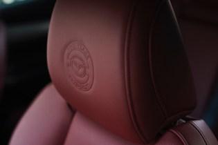 Mazda3 100th Anniversary headrest emboss