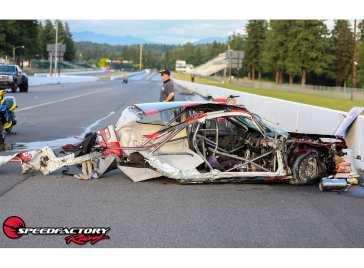 Speed Factory EG Honda Civic Crash 2