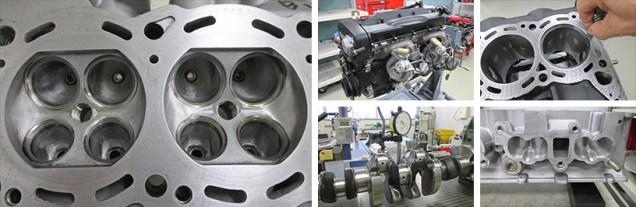 NissanSkylineGTR-R32-NISMORestoredCar 27a RB26DETT machinig