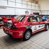 2007 Mitsubishi Lancer Evolution IX - Group N Works Rally Car-02