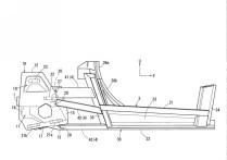 Mazda Sports Coupe patent drawing cabin profile 05