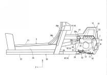 Mazda Sports Coupe patent drawing cabin profile 06