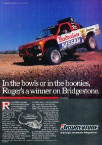 NissanHardbodyD21 1988ad BridgestoneRogerMears