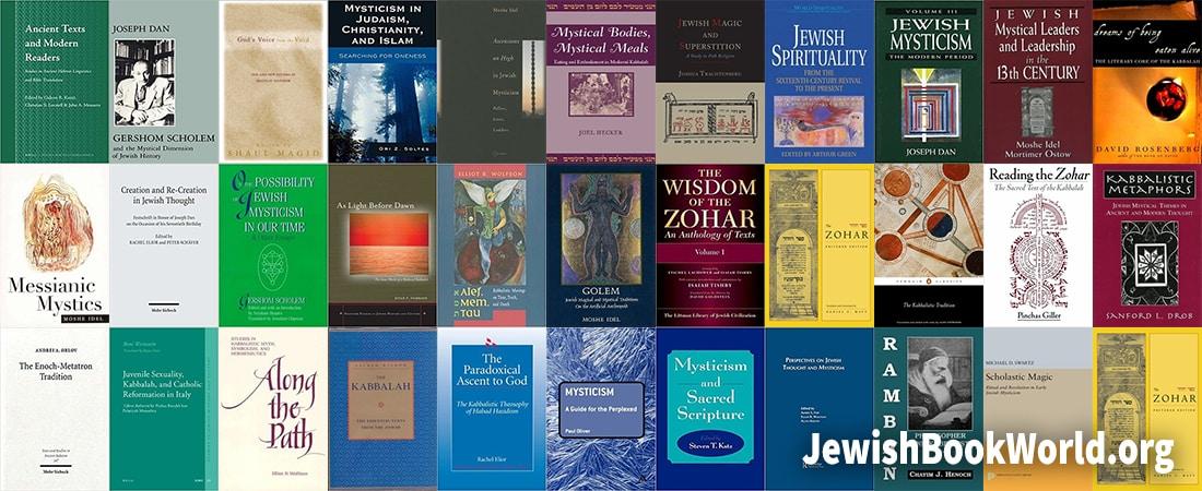 Covers of Kabbalah related books