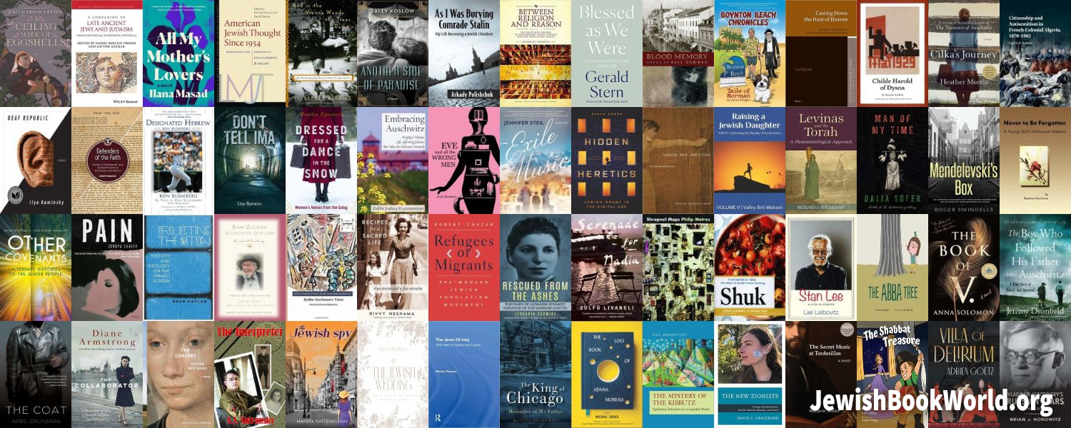 The 61 books posted on JewishBookWorld.org in May 2020